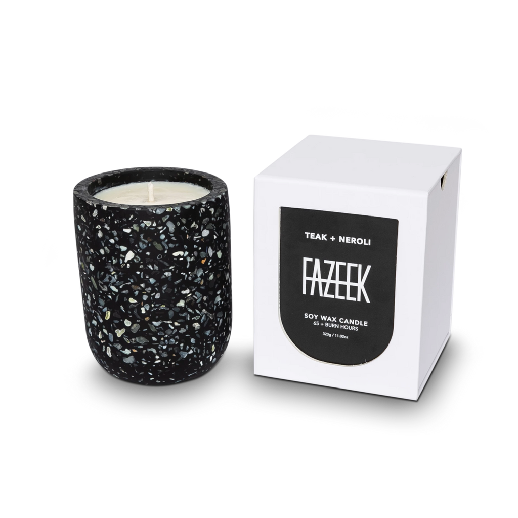 Teak and Neroli Candle design by Fazeek