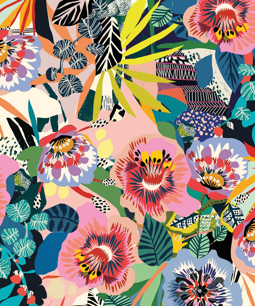 Summer Garden Wallpaper (Two Roll Set) Wallpaper from the Wallpaper Republic Collection by Milton & King