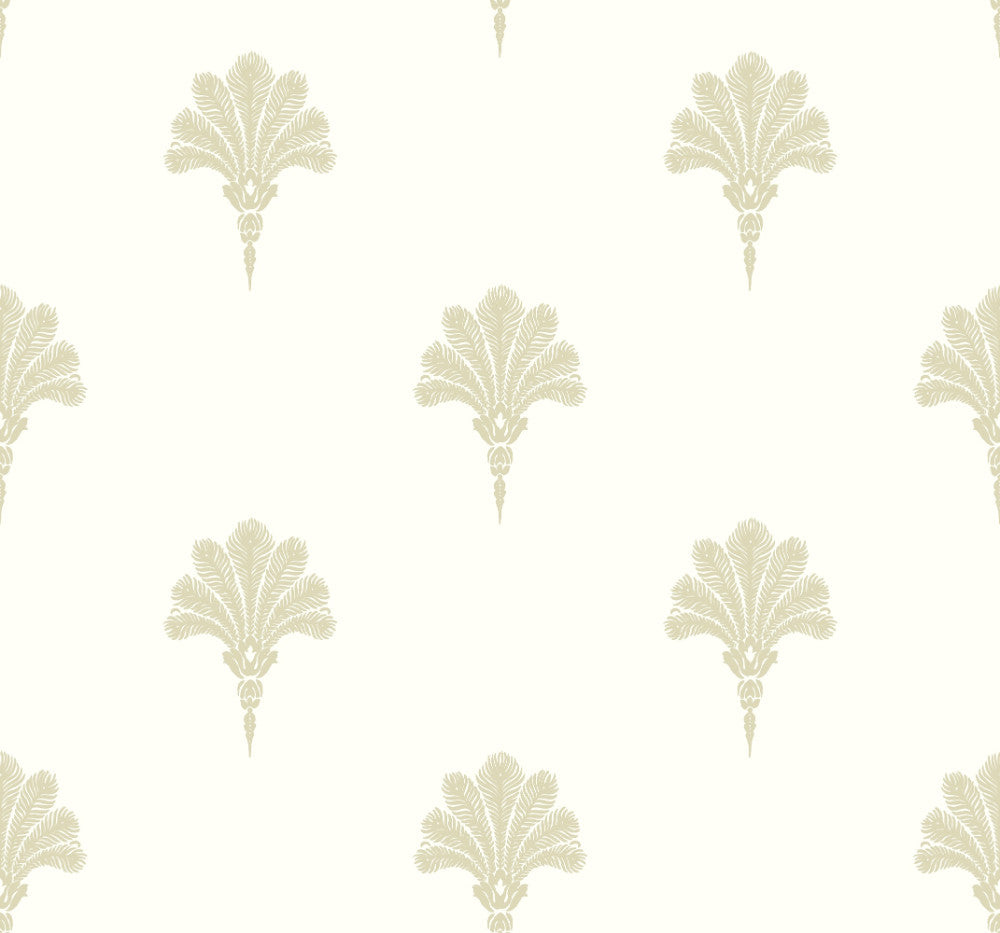 Summer Fan Wallpaper in Sand Dunes from the Beach House Collection by Seabrook Wallcoverings