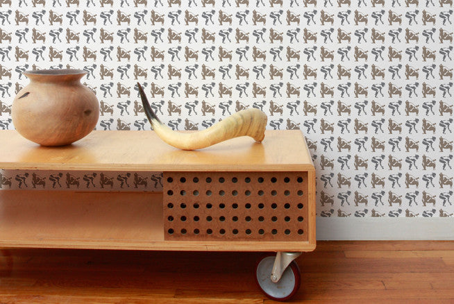 Sumo Wallpaper in Classic design by Aimee Wilder