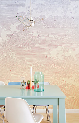 Sunset Wall Mural by Eijffinger for Brewster Home Fashions