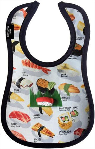 Chopsticks, Please Baby Bib by Mini Maniacs