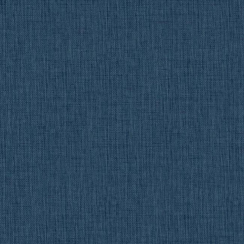 Sample Sweet Grass Wallpaper in Blue design by York Wallcoverings