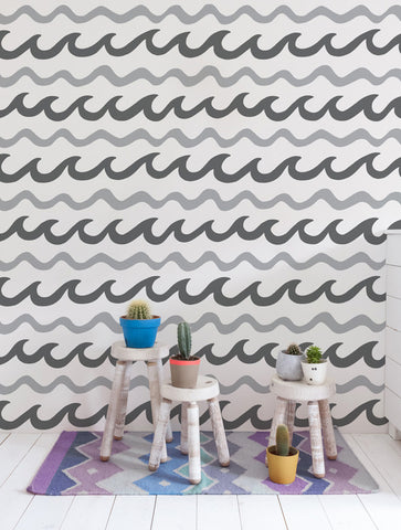 Swell Wallpaper in Mavericks design by Aimee Wilder