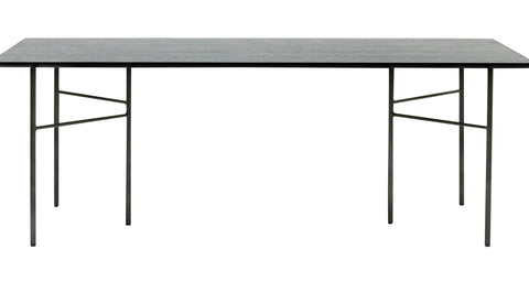 Mingle Table Top in Veneer Black by Ferm Living