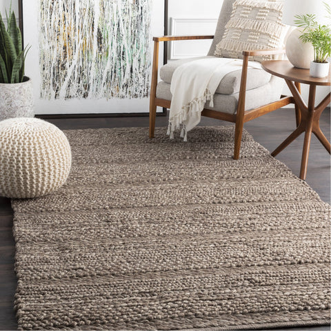 Tahoe TAH-3702 Hand Woven Rug in Charcoal & Camel by Surya