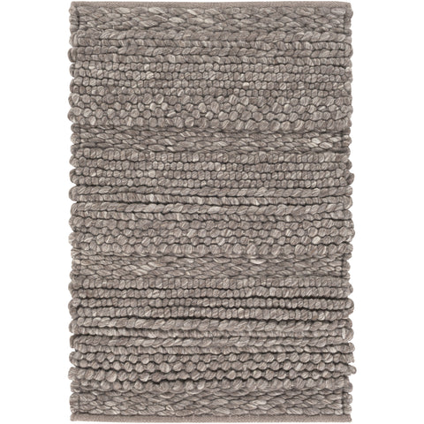 Tahoe Collection Area Rug in Dark Taupe