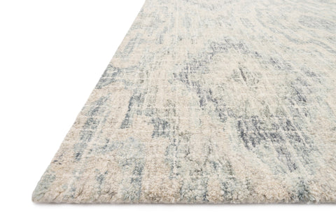 Tatum Rug in Slate and Silver by Loloi