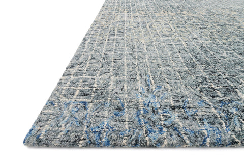 Tatum Rug in Ink and Blue by Loloi