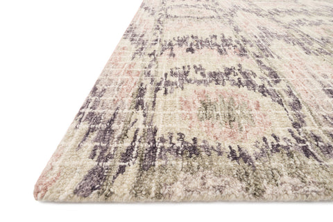 Tatum Rug in Blush and Raisin by Loloi