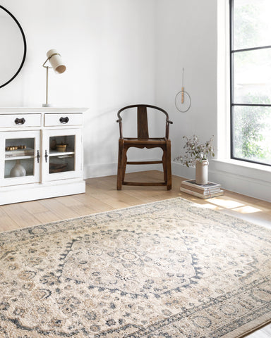Teagan Rug in Natural / Lt. Grey by Loloi II
