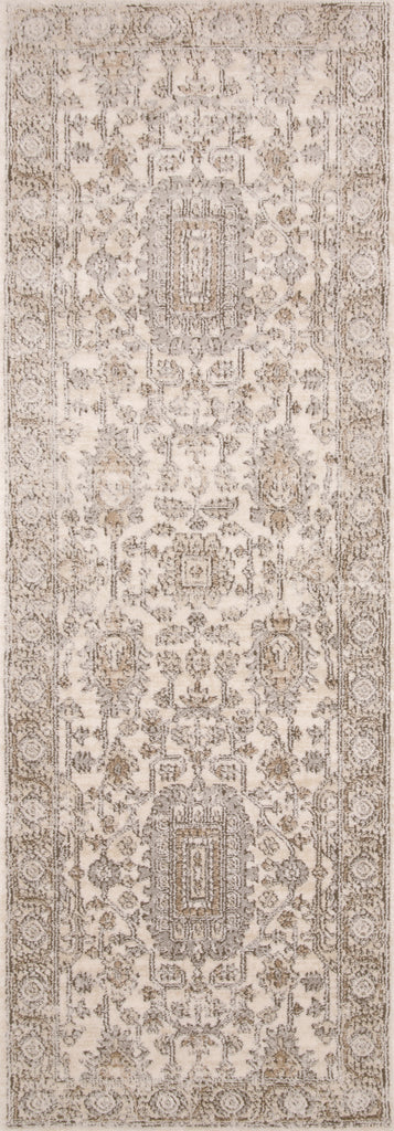 Teagan Rug in Ivory / Sand by Loloi II
