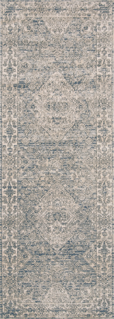 Teagan Rug in Sky / Natural by Loloi II