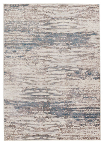 Malachite Abstract Grey & Ivory Rug by Jaipur Living
