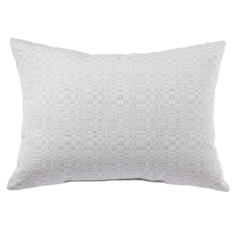 Isle Indoor/Outdoor Solid Silver Pillow design by Jaipur Living