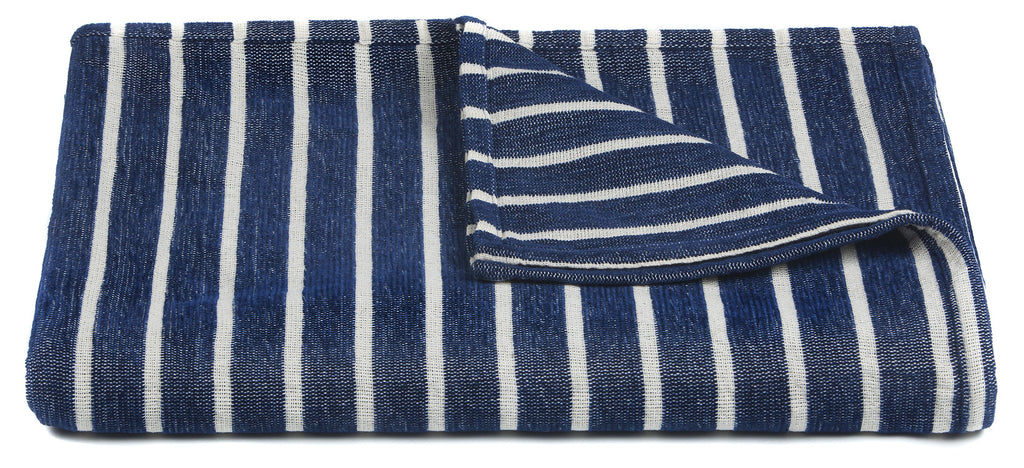 Aria Collection Throw in Blue & White design by Chandra rugs
