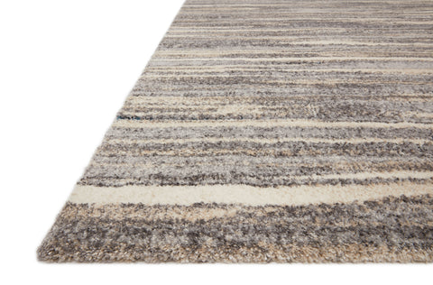 Theory Rug in Mist / Beige by Loloi