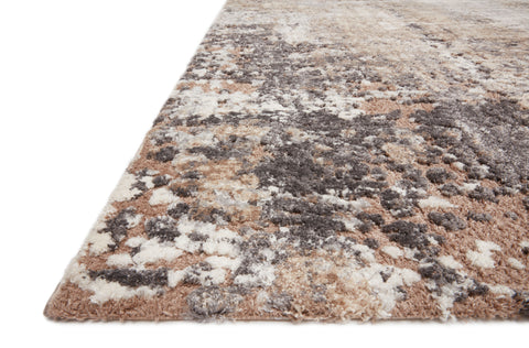 Theory Rug in Taupe / Grey by Loloi