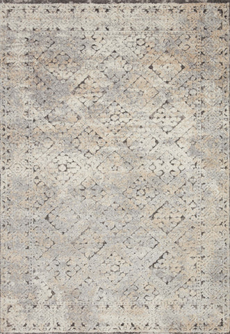 Theory Rug in Grey / Sand by Loloi