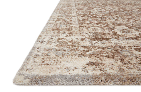 Theory Rug in Mocha / Natural by Loloi