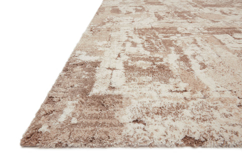 Theory Rug in Beige / Taupe by Loloi