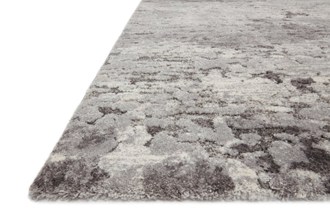 Theory Rug in Charcoal / Grey by Loloi