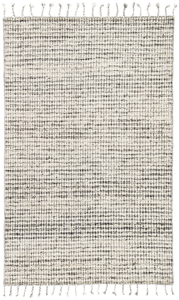 Perkins Handmade Dot Ivory & Black Area Rug