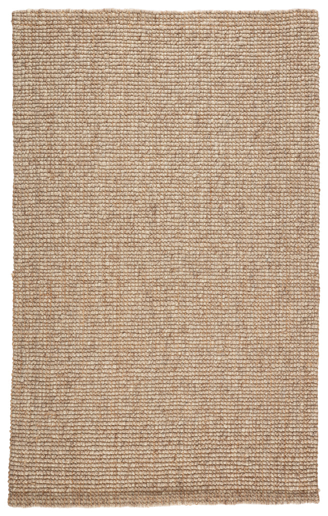 Oceana Natural Solid Light Gray/ Tan Rug by Jaipur Living