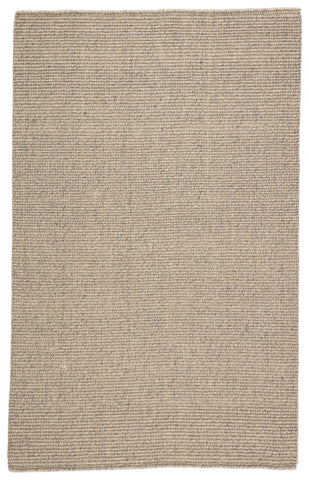 Chael Natural Solid Gray/ Beige Rug by Jaipur Living