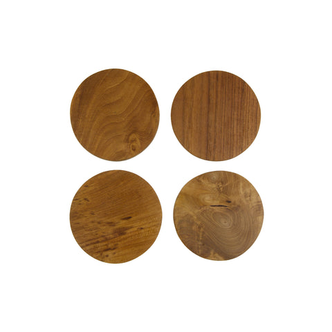 Teak Root Coasters by Sir/Madam