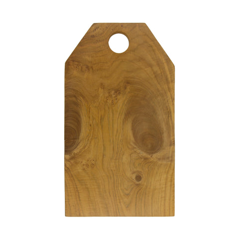 Teak Root Bevel Edge Cutting Board by Sir/Madam