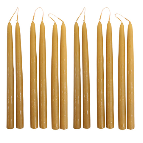 Taper Candles in Miel