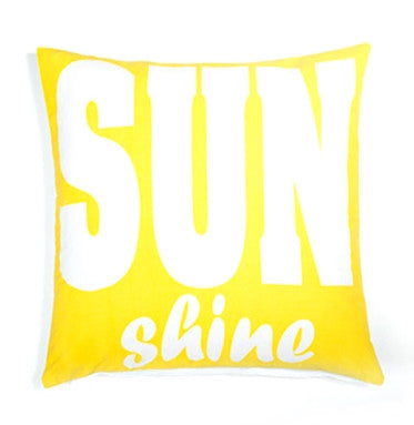 Yellow Sunshine Pillow design by 5 Surry Lane