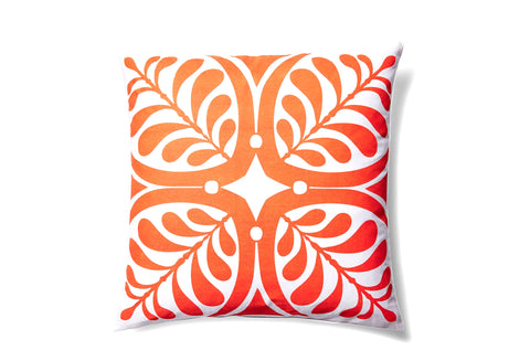 Tangerine Pillow design by 5 Surry Lane