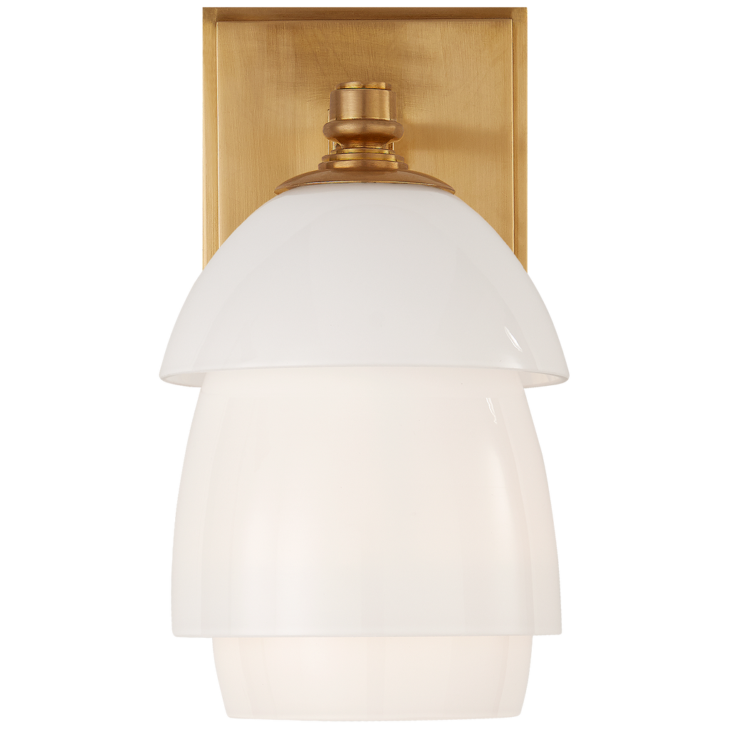 Whitman Small Sconce by Thomas O'Brien