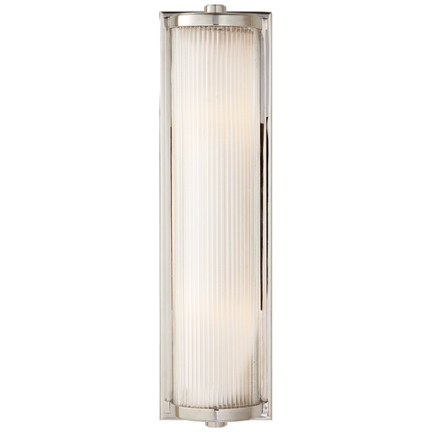 Dresser Long Glass Rod Light by Thomas O'Brien