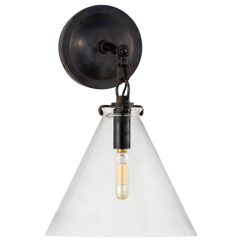 Katie Small Conical Sconce by Thomas O'Brien