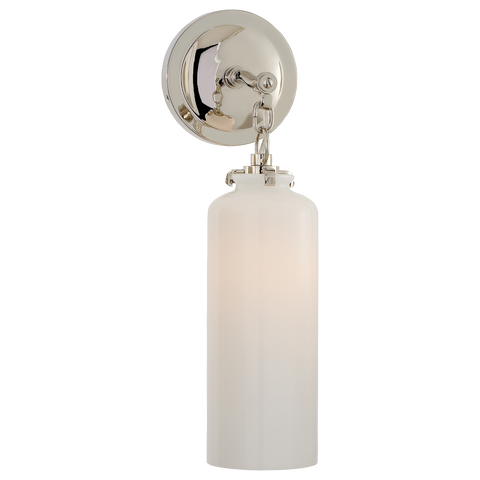 Katie Small Cylinder Sconce by Thomas O'Brien
