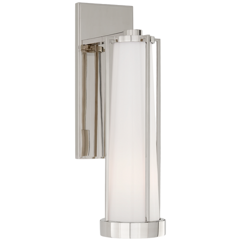 Calix Bracketed Sconce by Thomas O'Brien