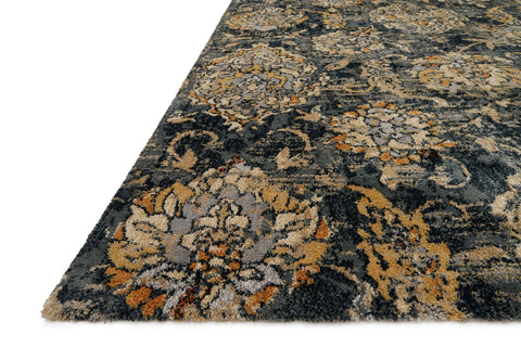 Torrance Rug in Charcoal by Loloi