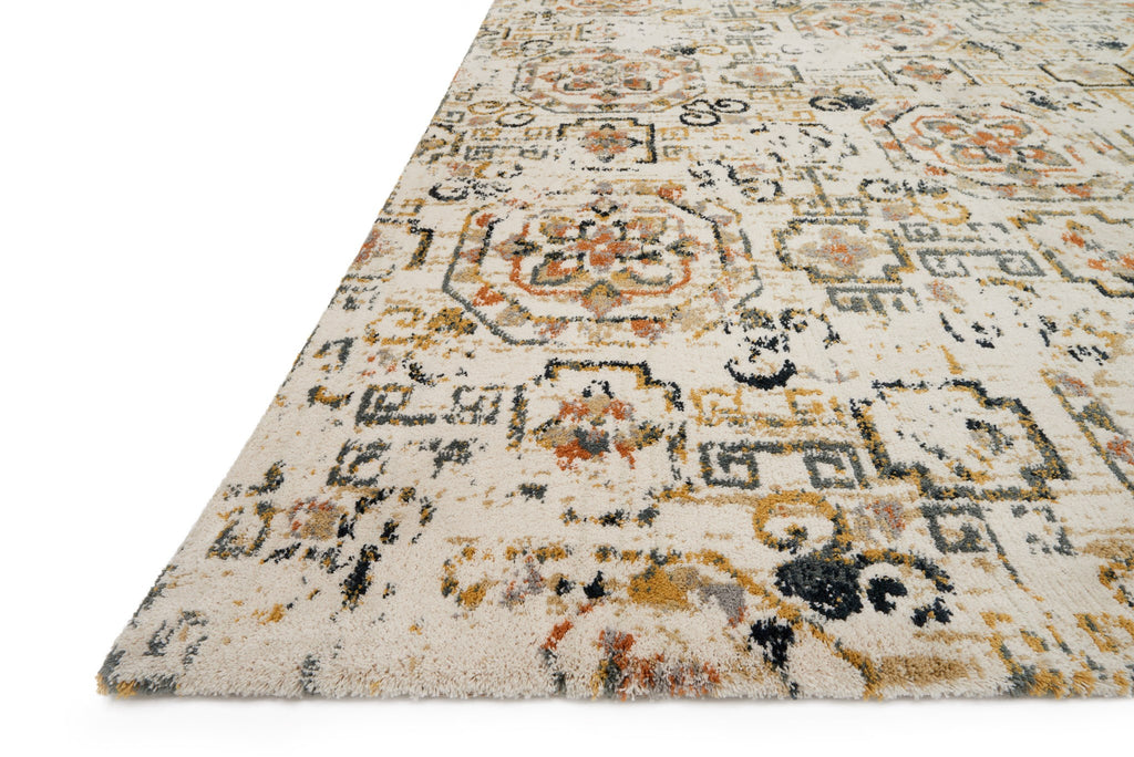 Torrance Rug in Ivory & Taupe by Loloi