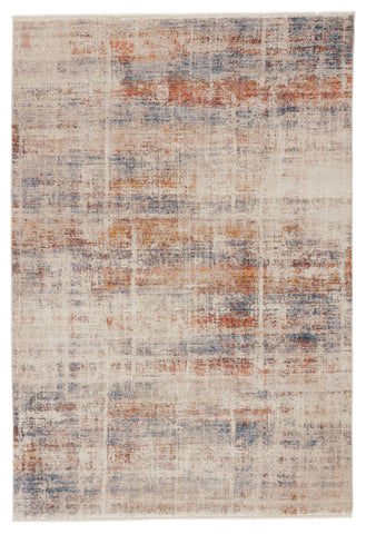 Aerin Abstract Rug in Multicolor & White by Jaipur Living