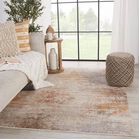 Berquist Abstract Rug in Multicolor & White by Jaipur Living