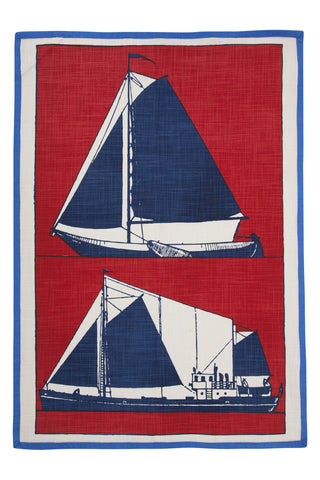 Skipper Tea Towel design by Thomas Paul