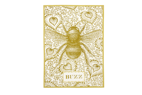 Buzz Tea Towel design by Thomas Paul