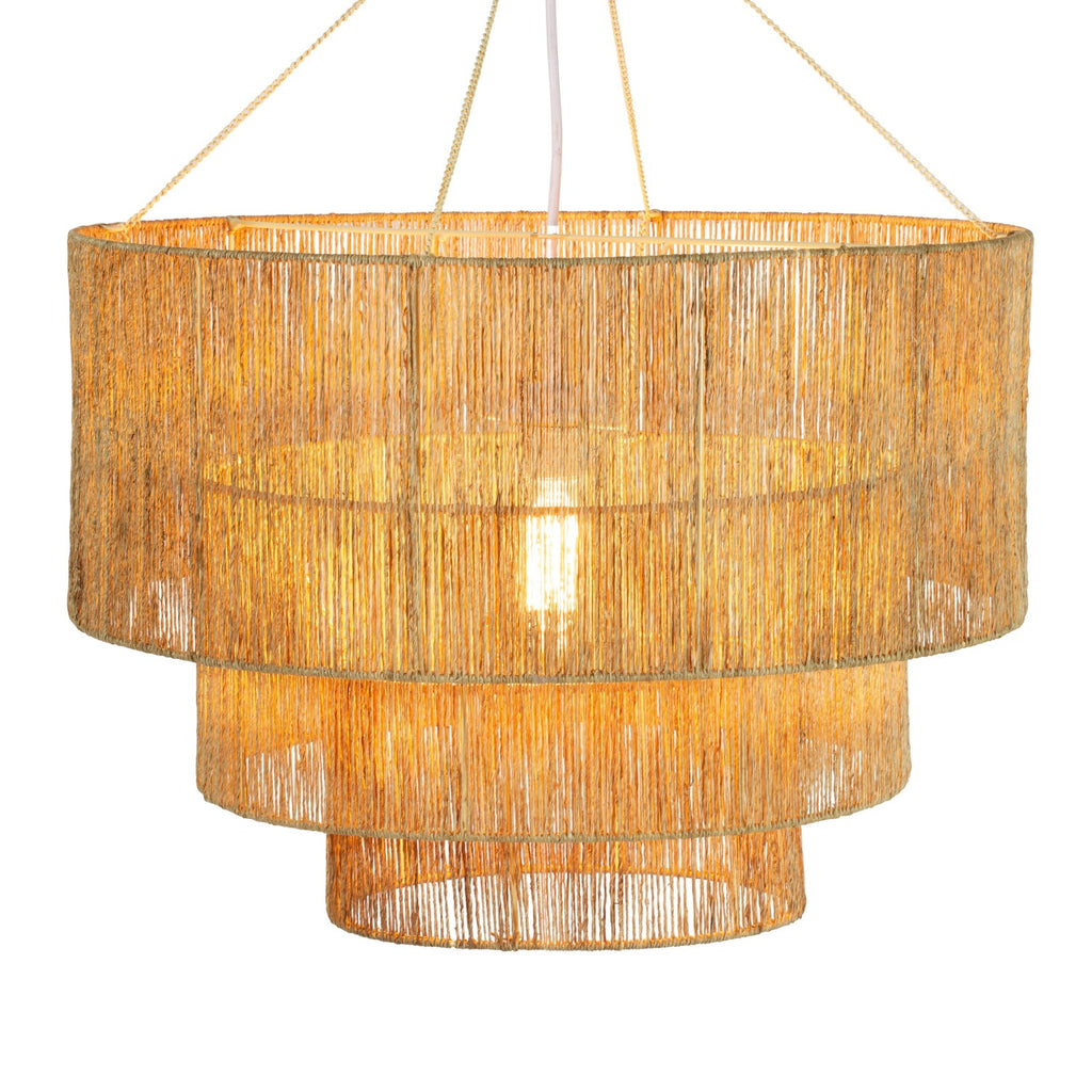Three Tier Chandelier in Natural design by Selamat