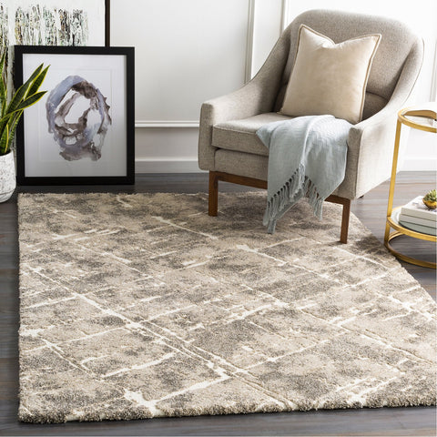Tuscany TUS-2300 Rug in Khaki & White by Surya