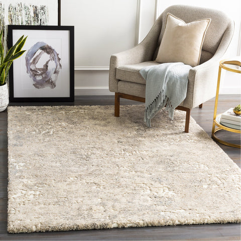 Tuscany TUS-2304 Rug in Cream & Dark Brown by Surya