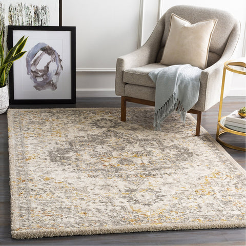 Tuscany TUS-2307 Rug in Cream & Dark Brown by Surya
