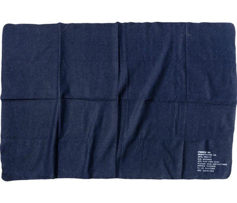 Felted Blanket - Navy Blue
